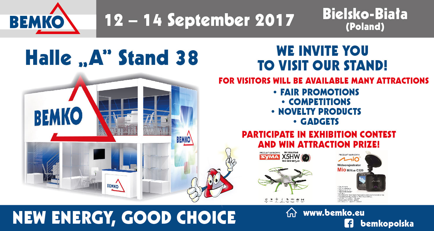 Energetab 12 – 14 September 2017 WE INVITE YOU  TO VISIT OUR STAND!